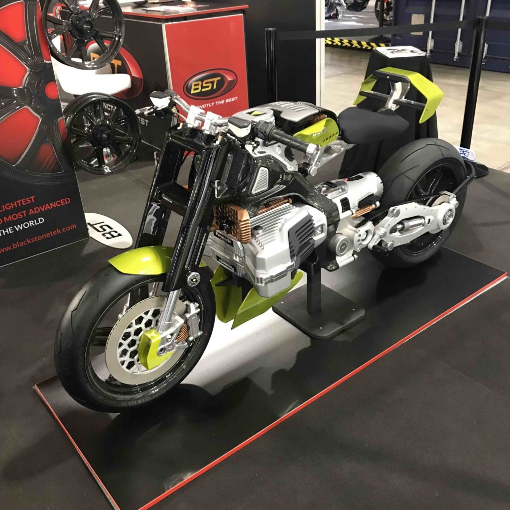 BST HyperTEK Electric Motorcycl vue1