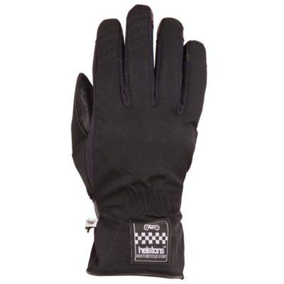 gants-helstons-one-lady-hiver-noir-moto -femme-textile-cuir-vintage