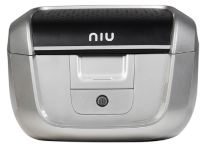Niu Top-Case pour M+ avec support gris