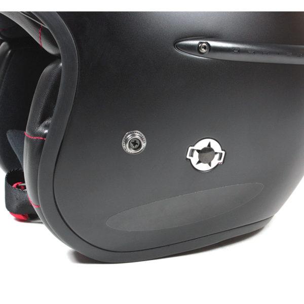 Chaft Stickers réfléchissants pour casque noir vue 2