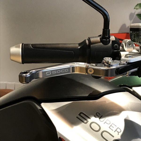 Super Soco Leviers de frein réglables Alu pour TS-TSx-TC-TC Max vue1