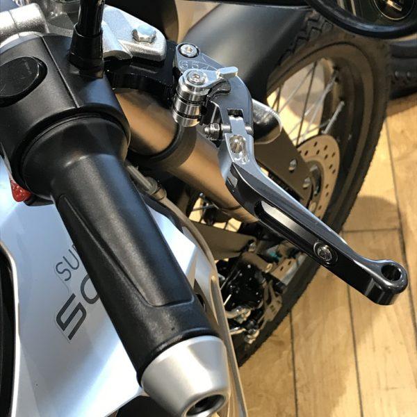 Super Soco Leviers de frein réglables Alu pour TS-TSx-TC-TC Max vue2