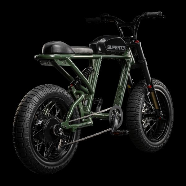 Super73 RX vert arrière