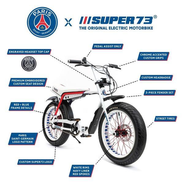 Super73 ZG PSG spec