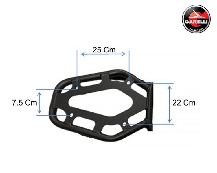 Garelli Support Top-Case Ciclone 3