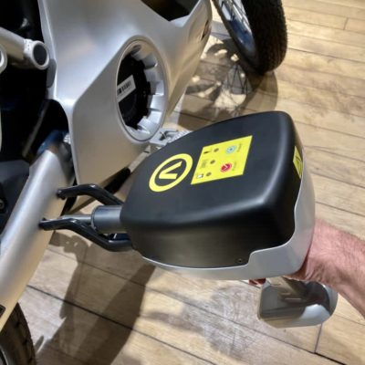 Gravage scooter moto Argos